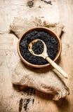 Black caviar Royalty Free Stock Image
