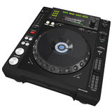 Black CD player Royalty Free Stock Images