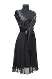 Black celebratory dress royalty free stock photos