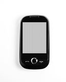 Black cell phone Royalty Free Stock Photo