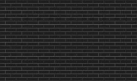 Black ceramic mosaic tiles texture background. royalty free illustration