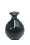 Black ceramic vase  Stock Photos