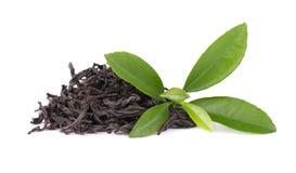Black Ceylon tea with bergamot, isolated on white background. Black Ceylon tea with bergamot, isolated on white background royalty free stock photography