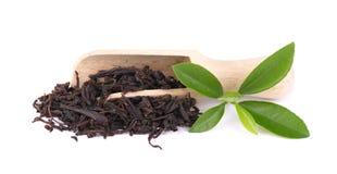 Black Ceylon tea with soursop, isolated on white background. Black Ceylon tea with soursop, isolated on white background stock image