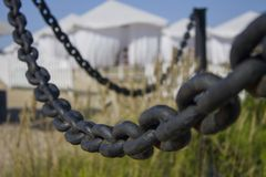 Black chain Royalty Free Stock Photos