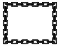 Black Chain Frame royalty free stock photography