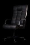 Black chair Stock Images