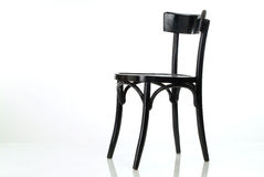 Black chair Stock Photos
