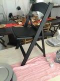 Black chair Stock Photo
