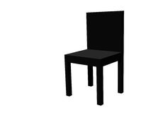 Black chair Stock Photo