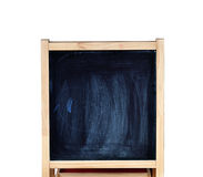 Black chalk board Royalty Free Stock Photos