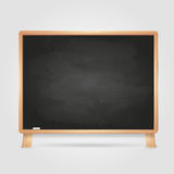 Black chalk board Royalty Free Stock Image