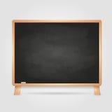 Black chalk board. Art illustration Royalty Free Stock Image