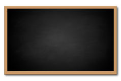 Black chalkboard Royalty Free Stock Photos