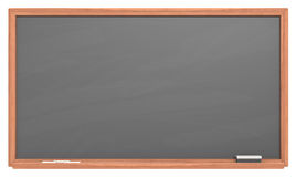 Black Chalkboard. Stock Photography