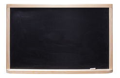 Black chalkboard Stock Photography