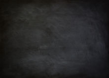 Black chalkboard. Close up of a black dirty chalkboard stock photos