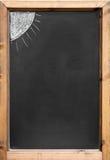 Black chalkboard Royalty Free Stock Photography