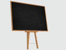 Black chalkboard isolated Royalty Free Stock Images