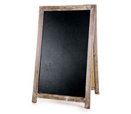 Black chalkboard Royalty Free Stock Image