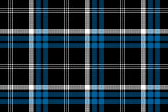 Black check seamless fabric texture background Royalty Free Stock Photo