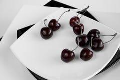 Black Cherries Stock Image