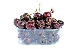Black cherries royalty free stock photos