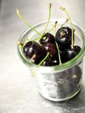 Black cherry royalty free stock image