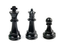 Black chess Royalty Free Stock Images