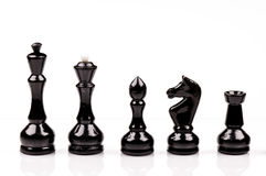 Black chess Stock Photography