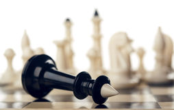 Black chess king Stock Image