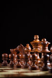 Black chess Royalty Free Stock Photos