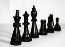 Black Chess Piece Royalty Free Stock Photos