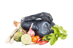 Black Chicken Royalty Free Stock Photography