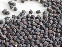Black chickpeas Royalty Free Stock Photo