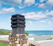 Black chimney Royalty Free Stock Photos
