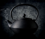 Black chinese teapot Royalty Free Stock Photography