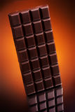 Black chocolate bar Royalty Free Stock Image