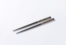 Black chopsticks Royalty Free Stock Photography