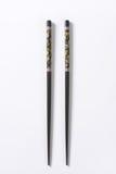Black chopsticks Royalty Free Stock Images