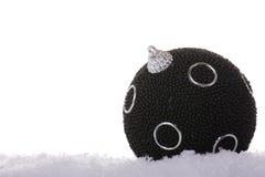 Black christmas Stock Photography