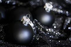 Black christmas Royalty Free Stock Images