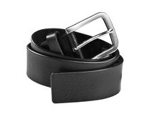 Black chrome belt Royalty Free Stock Photography