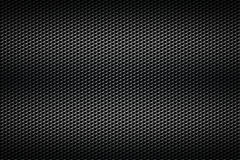 Black chrome grille. metal background. Stock Photos