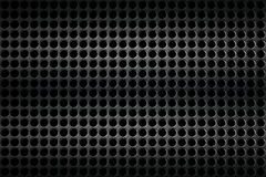 Black chrome grille. metal background. Royalty Free Stock Photo