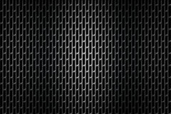 Black chrome grille. metal background. Stock Image