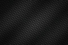 Black chrome grille. metal background. Royalty Free Stock Photos