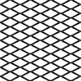 Black chrome Steel Grating seamless structure. Chainlink isolated on white background.  Vector illustration. EPS 10 Stock Image