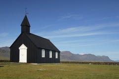 The black church at Búðir, Iceland Stock Photography