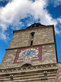 Black Church bell tower Royalty Free Stock Photography